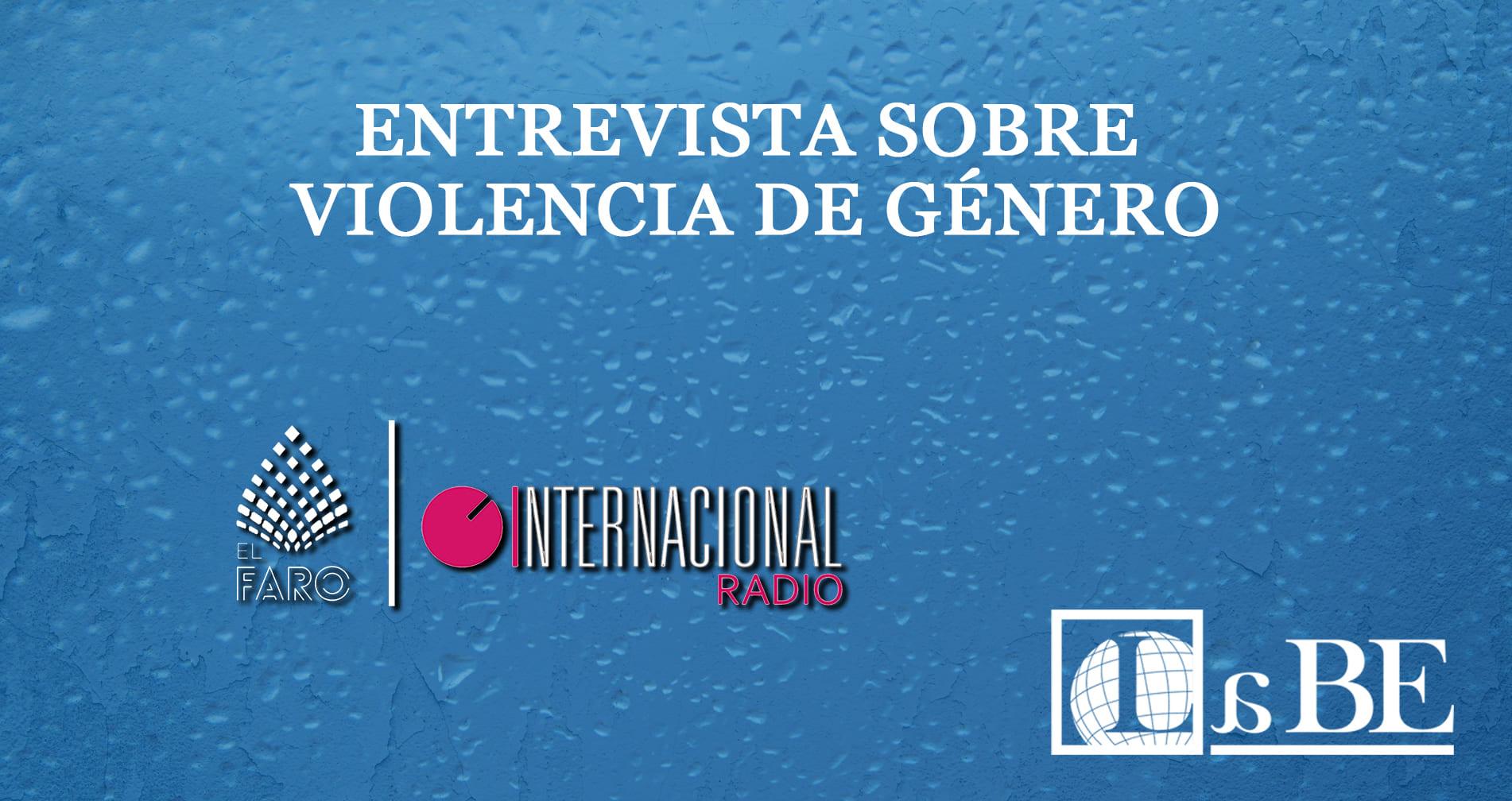Entrevista sobre violencia de género